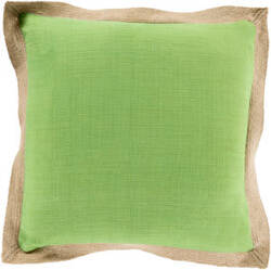 Surya Jute Flange Pillow Jf-001