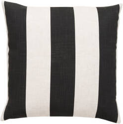 Surya Pillows JS-009 Black/Ivory