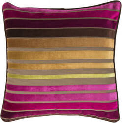 Surya Velvet Stripe Pillow Js-020