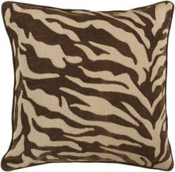 Surya Pillows JS-033 Chocolate/Olive