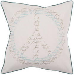 Surya Pillows JS-050 Beige/Teal