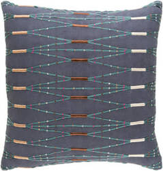 Surya Kikuyu Pillow Kik-003 Navy