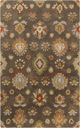 Surya Langley LAG-1019 Olive / Green / Red / Orange / Blue Area Rug