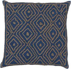 Surya Atlas Pillow Ld-025 Blue/Camel