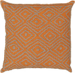 Surya Atlas Pillow Ld-029 Orange/Camel