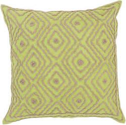 Surya Atlas Pillow Ld-031 Lime/Camel