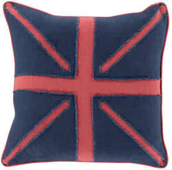 Surya Linen Flag Pillow Lf-002