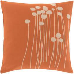Surya Abo Pillow Lja-001 Orange