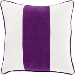 Surya Linen Stripe Pillow Ls-002