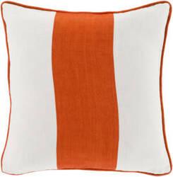 Surya Linen Stripe Pillow Ls-003