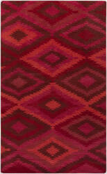 Surya Mesa MES-9000 Violet (purple) / Pink / Red Area Rug