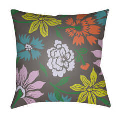 Surya Moody Floral Pillow Mf-045