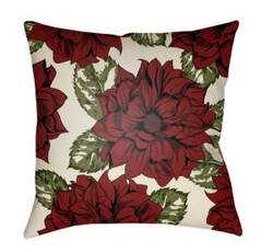 Surya Moody Floral Pillow Mf-049