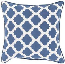 Surya Moroccan Printed Lattice Pillow Mpl-001