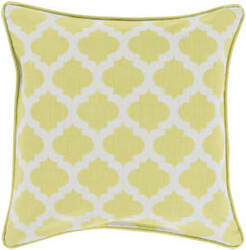 Surya Moroccan Printed Lattice Pillow Mpl-002