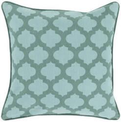 Surya Moroccan Printed Lattice Pillow Mpl-003