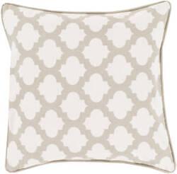 Surya Moroccan Printed Lattice Pillow Mpl-007