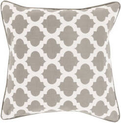 Surya Moroccan Printed Lattice Pillow Mpl-008