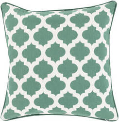 Surya Moroccan Printed Lattice Pillow Mpl-010