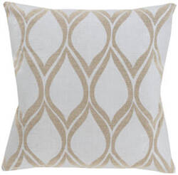 Surya Metallic Stamped Pillow Ms-001