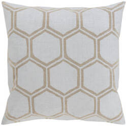 Surya Metallic Stamped Pillow Ms-003