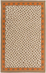 Surya Nantes Nan-8002 Burnt Orange Area Rug