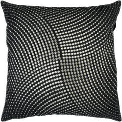 Surya Pillows P-0223 Black/Gray