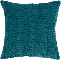 Surya Pillows P-0279 Teal Blue