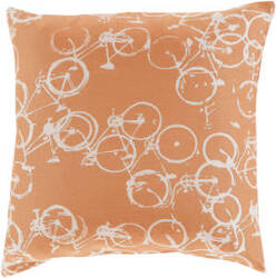 Surya Pedal Power Pillow Pdp-003 Rust