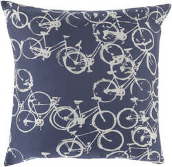 Surya Pedal Power Pillow Pdp-007 Navy