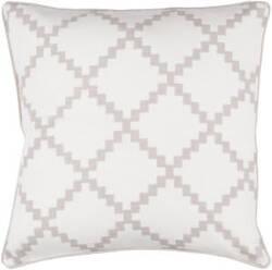 Surya Parsons Pillow Pr-002 Taupe
