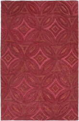 Surya Perspective Psv-42 Cherry Area Rug