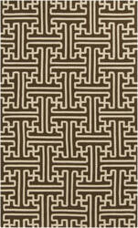 Surya Rain RAI-1190 Dark Brown Area Rug
