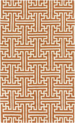 Surya Rain RAI-1192 Burnt Orange Area Rug