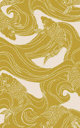 Surya Rain Rai-1254 Gold Area Rug