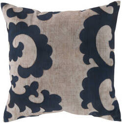 Surya Rain Pillow Rg-018 Navy