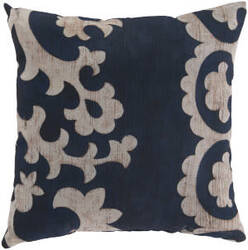 Surya Rain Pillow Rg-022 Navy