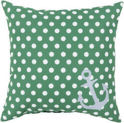 Surya Rain Pillow Rg-122 Emerald