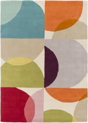 Surya Scion Sci-28 Orange Area Rug