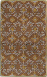 Surya Sea SEA-121 Brown Slate Area Rug