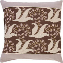 Surya Pillows SI-2003 Chocolate/Taupe