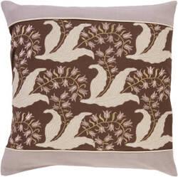 Surya Pillows SI-2003 Chocolate/Taupe