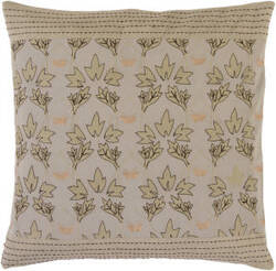 Surya Pillows SI-2013 Gray/Olive