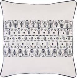 Surya Pillows SI-2019 Ivory/Navy
