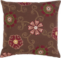 Surya Pillows SI-2020 Chocolate