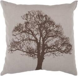 Surya Pillows ST-053 Chocolate/Moss