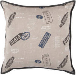Surya Pillows ST-074 Gray/Olive