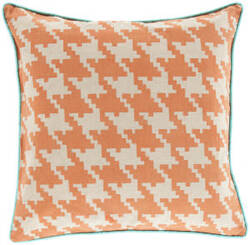 Surya Houndstooth Pillow Sy-040