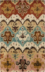 Surya Tinley Tin-4004 Rust Area Rug