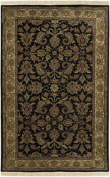 Surya Taj Mahal Tj-1047 Black / Cream Area Rug